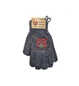 B&B Bamboo Shower Gloves