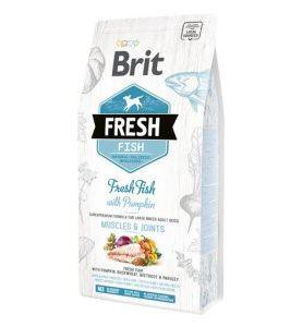Brit Fresh Fish with Pumpkin Adult Large Breed, Muscles & Joints