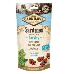 Carnilove Kat Soft Snack Sardin