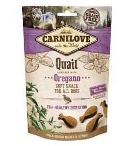 Carnilove Semi Moist Snack Quail