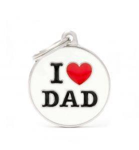 MyFamily Hundetegn I Love Dad