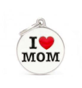 MyFamily Hundetegn I Love Mom