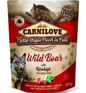 Carnilove Pouch Pate Wild Boar & Rosehips