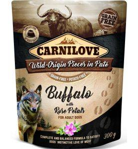 Carnilove Pouch Pate Buffalo & Rose Petals