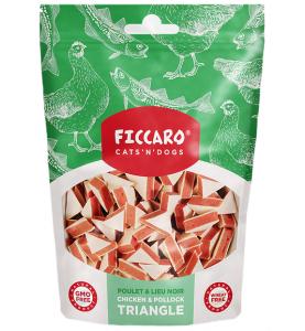 Ficcaro Chicken & Pollock Triangle