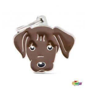 MyFamily Hundetegn Chocolate Labrador