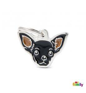 MyFamily Hundetegn Chihuahua Sort