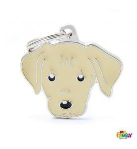 MyFamily Hundetegn Cream Labrador