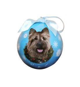 Julekugle Cairn Terrier