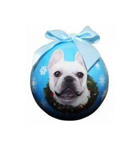 Julekugler Franske Bulldog