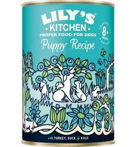 Lily's Kitchen Puppy Recipe Turkey & Duck