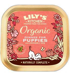 Lily's Kitchen Organic Dinner For Puppies