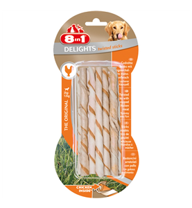 8in1 Delights Twisted Sticks Kylling