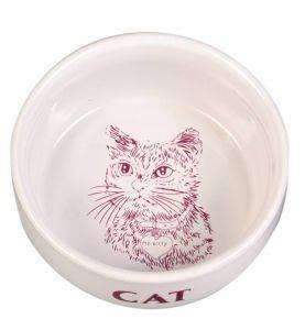 Trixie Kat Porcelænsskål