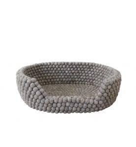 Wooldot Pet Basket Sand Brown