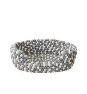 Wooldot Pet Basket Light Grey