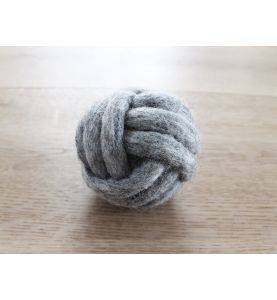 Wooldot Knotted Ball Steel grey